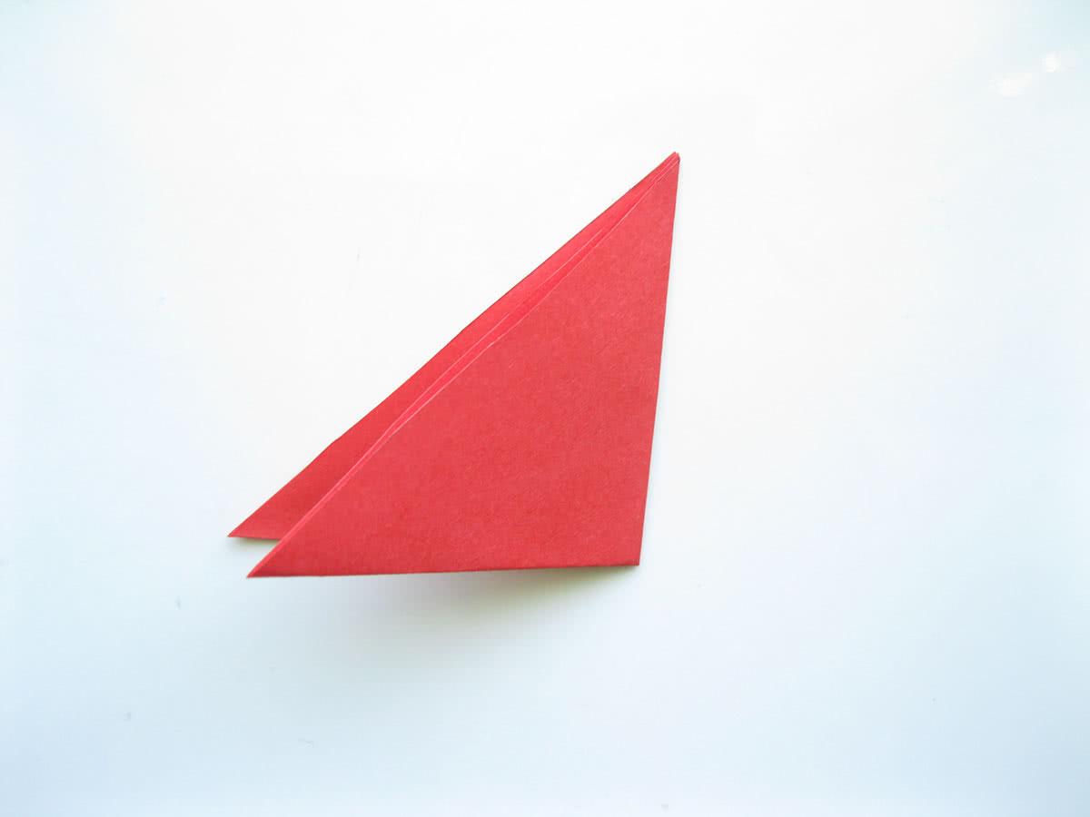 Оригами тюльпан шаг2