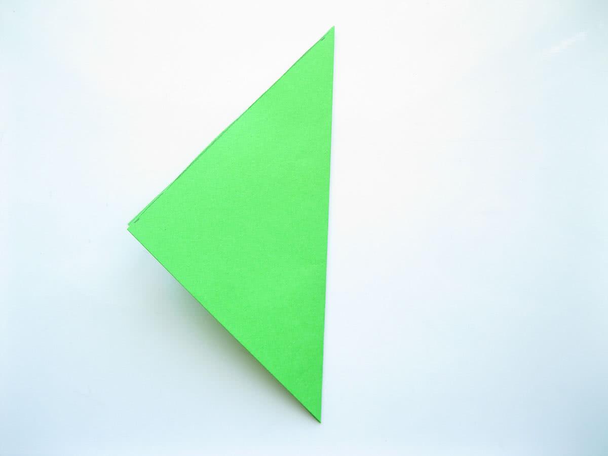 Оригами тюльпан шаг5
