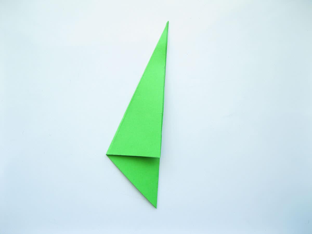 Оригами тюльпан шаг6