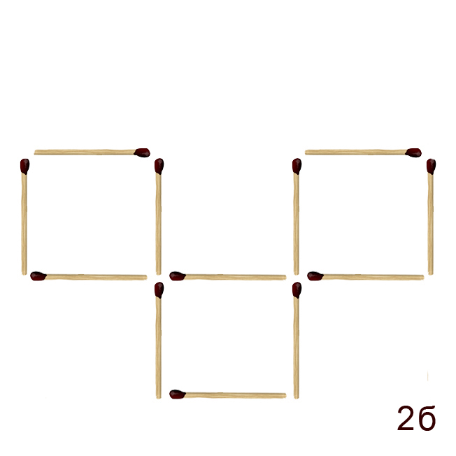 Как решить головоломку из спичек