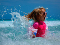 Акклиматизация ребёнка на море