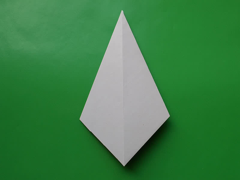 Гриб оригами шаг 3