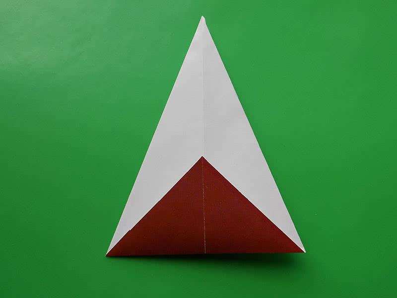 Гриб из бумаги оригами мастер класс