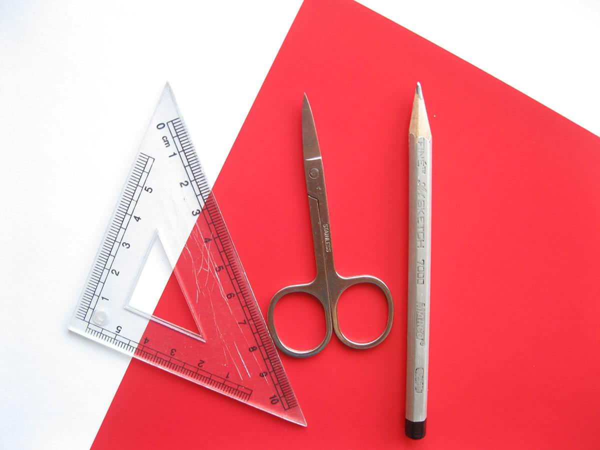 Материалы для оригами сердце