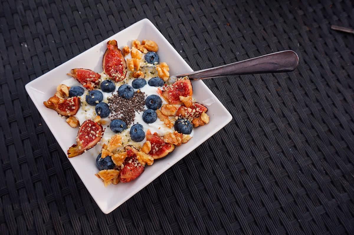 Мюсли на завтрак