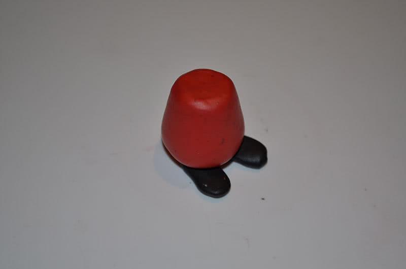 Фигура Пеппы пластилин