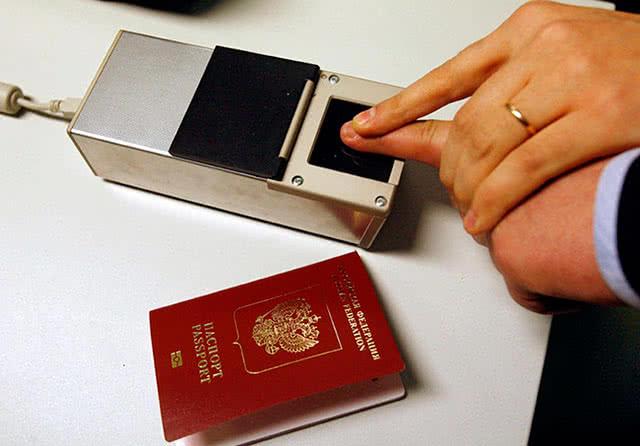 Отпечатки пальцев для загранпаспорта