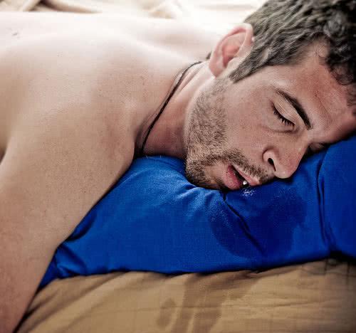 Слюни во сне