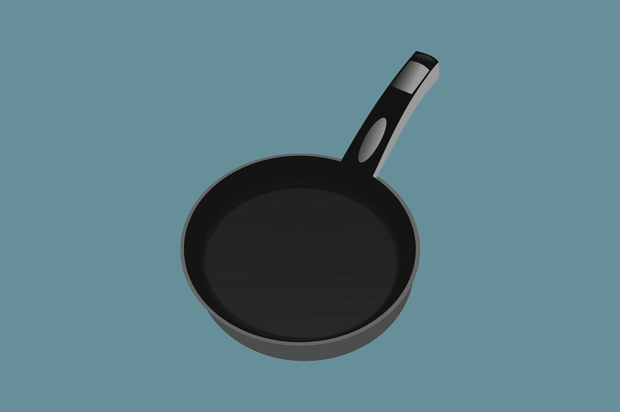 очистить чугунную сковороду от нагара