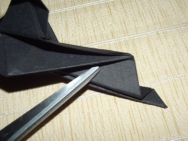 Оригами голубь поэтапно схема