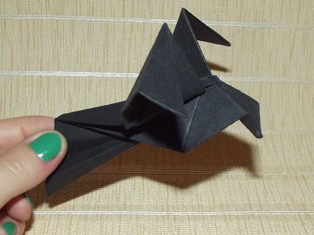 Оригами голубь поэтапно фото