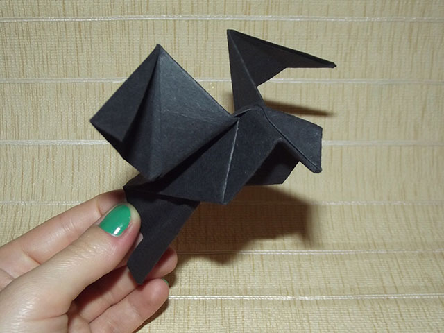 Как сделать оригами голубь фото
