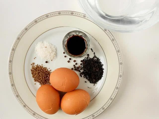 """Продукты для """"чайных"""" яиц"""