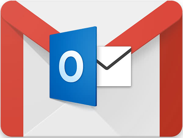 Gmail почта на outlook