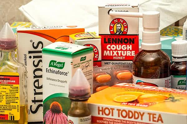 Средства против горла