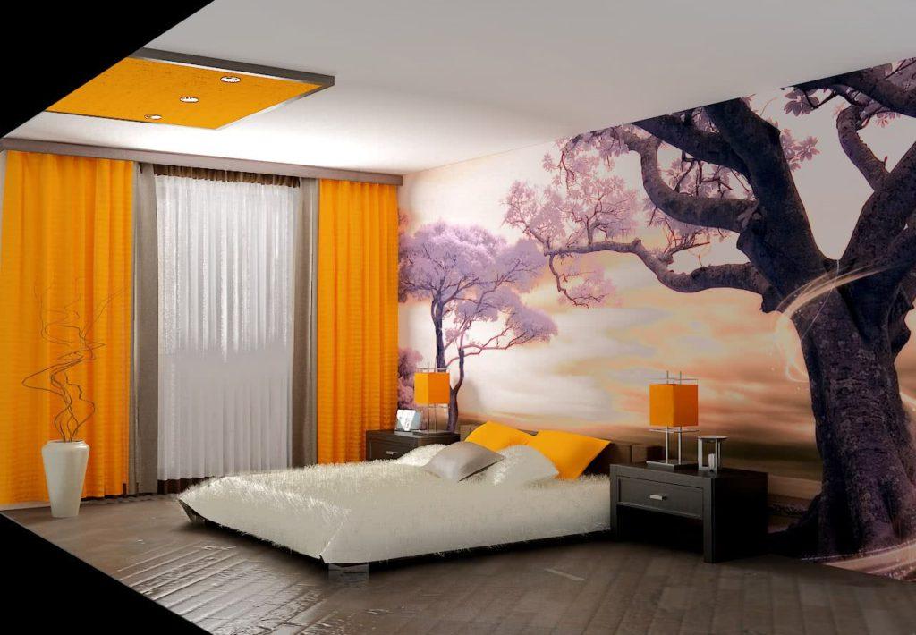 Природные мотивы создают атмосферу отдыха и покоя.