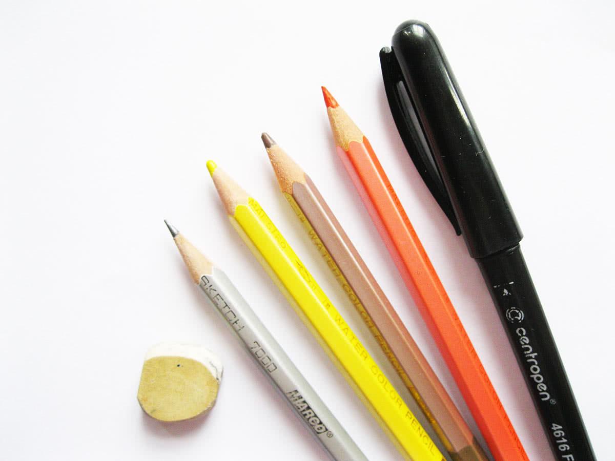 Карандаши для рисования