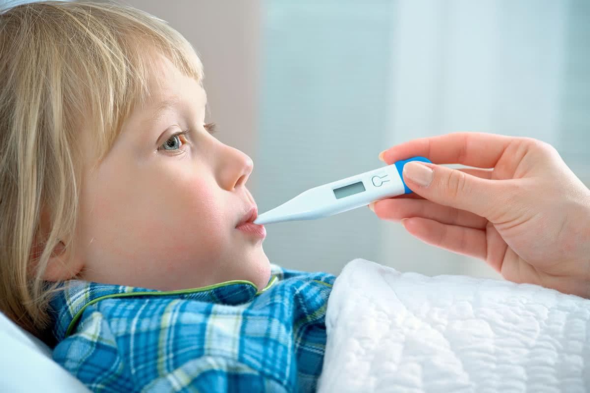 Измерение температуры у детей