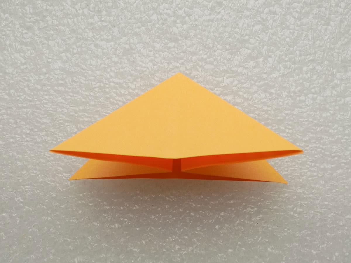 Оригами бабочка шаг 3