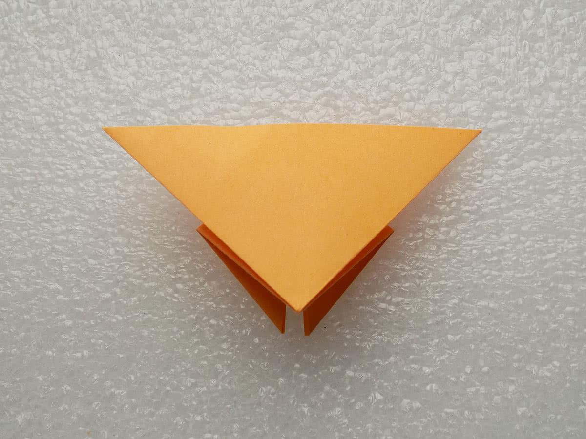 Оригами бабочка шаг 6