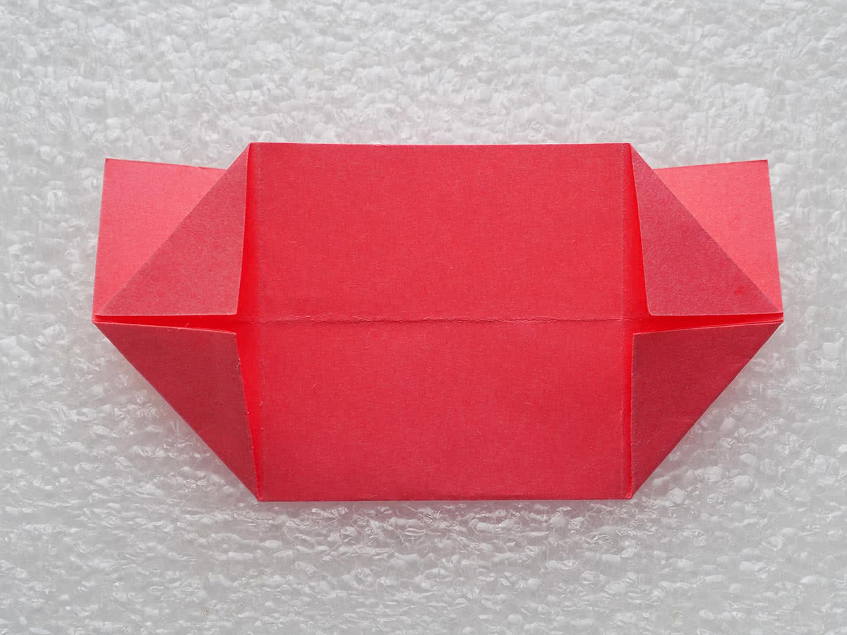 Оригами коробочка шаг 11