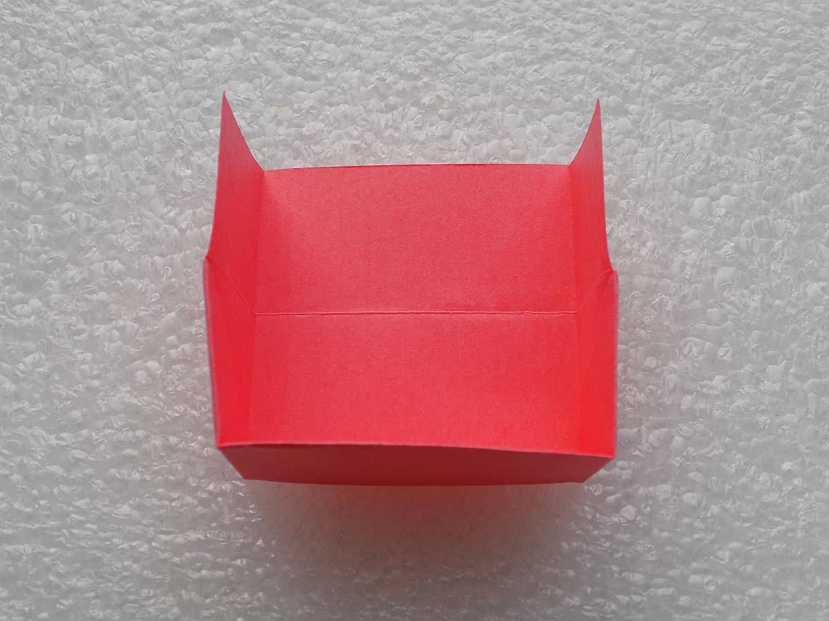 Оригами коробочка шаг 13