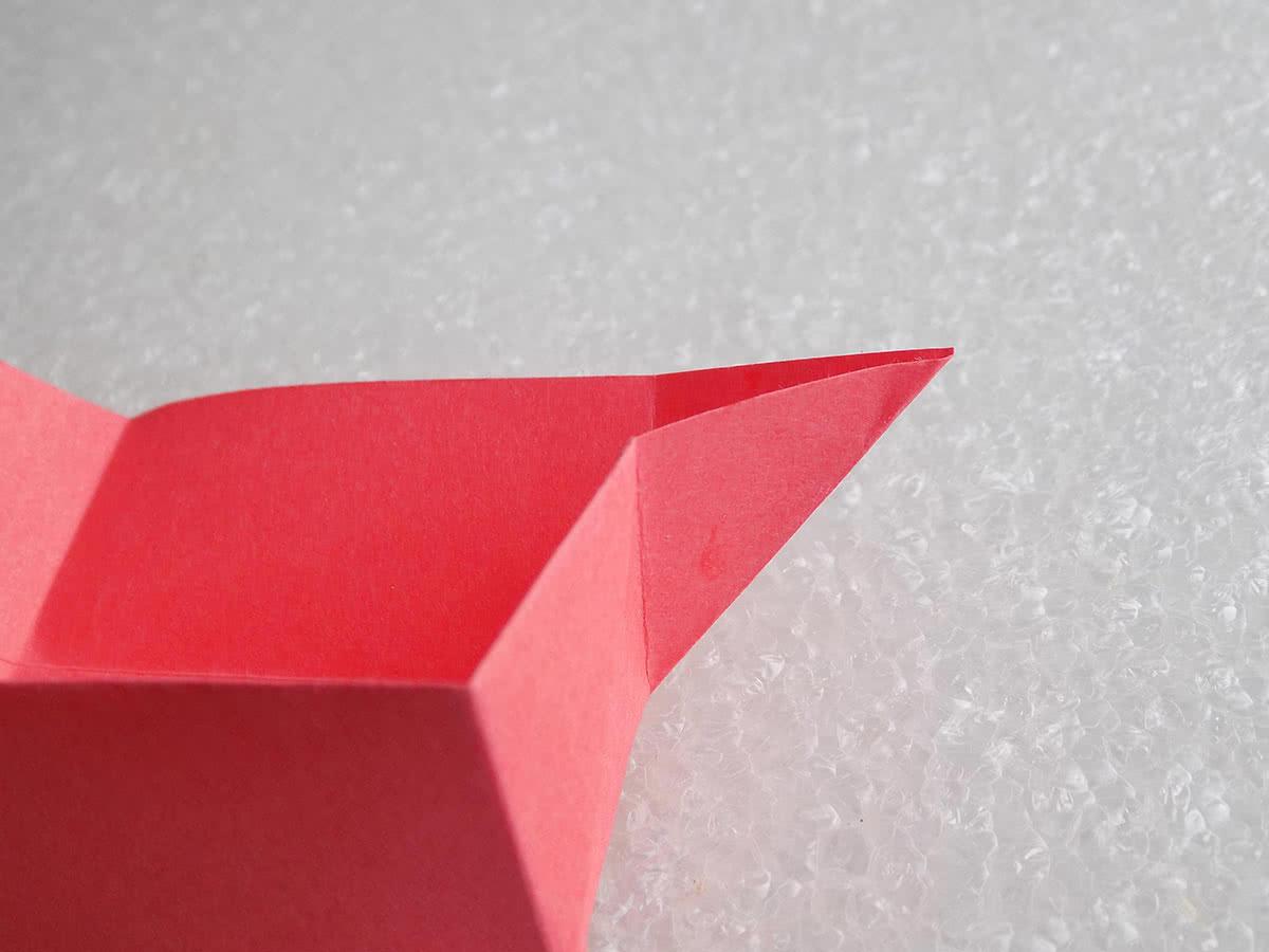 Оригами коробочка шаг 14