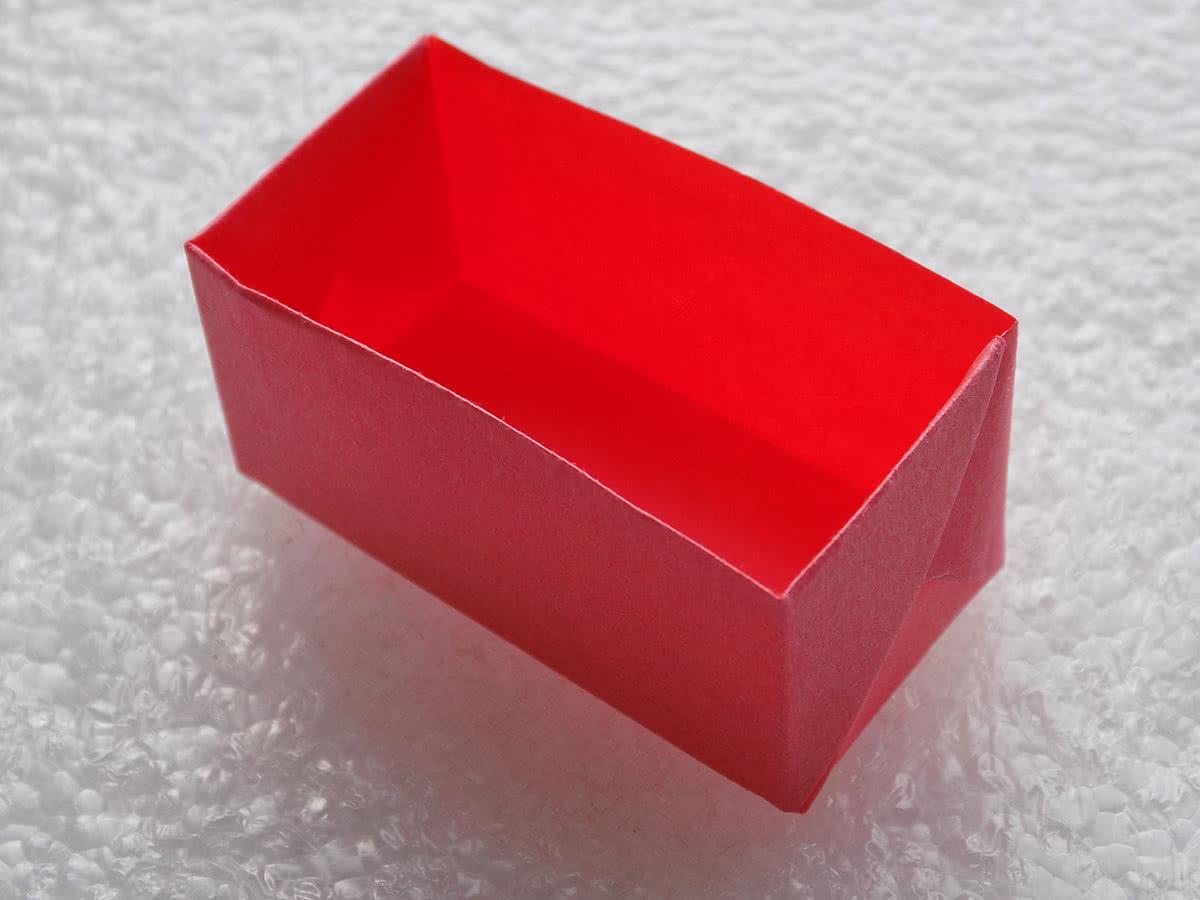 Оригами коробочка шаг 18