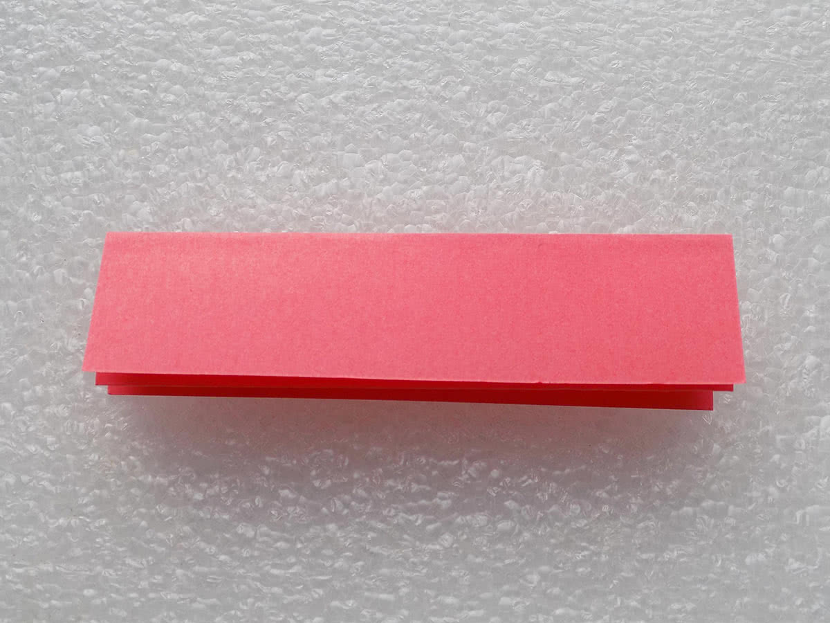Оригами коробочка шаг 4