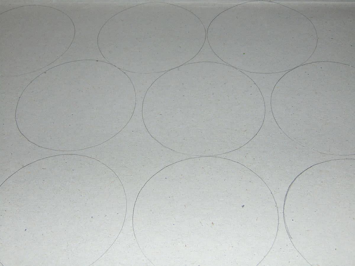 Шкатулка из бобины от скотча шаг 1