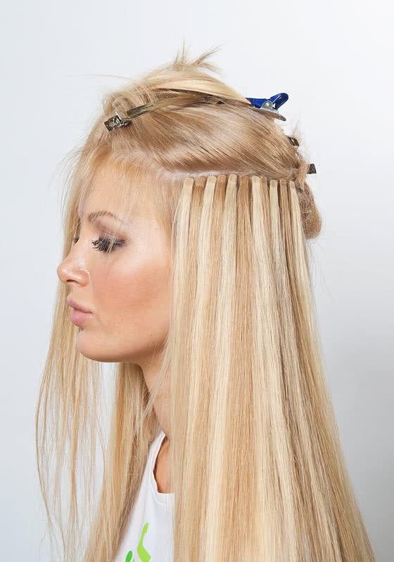 Холодная методика наращивания волос