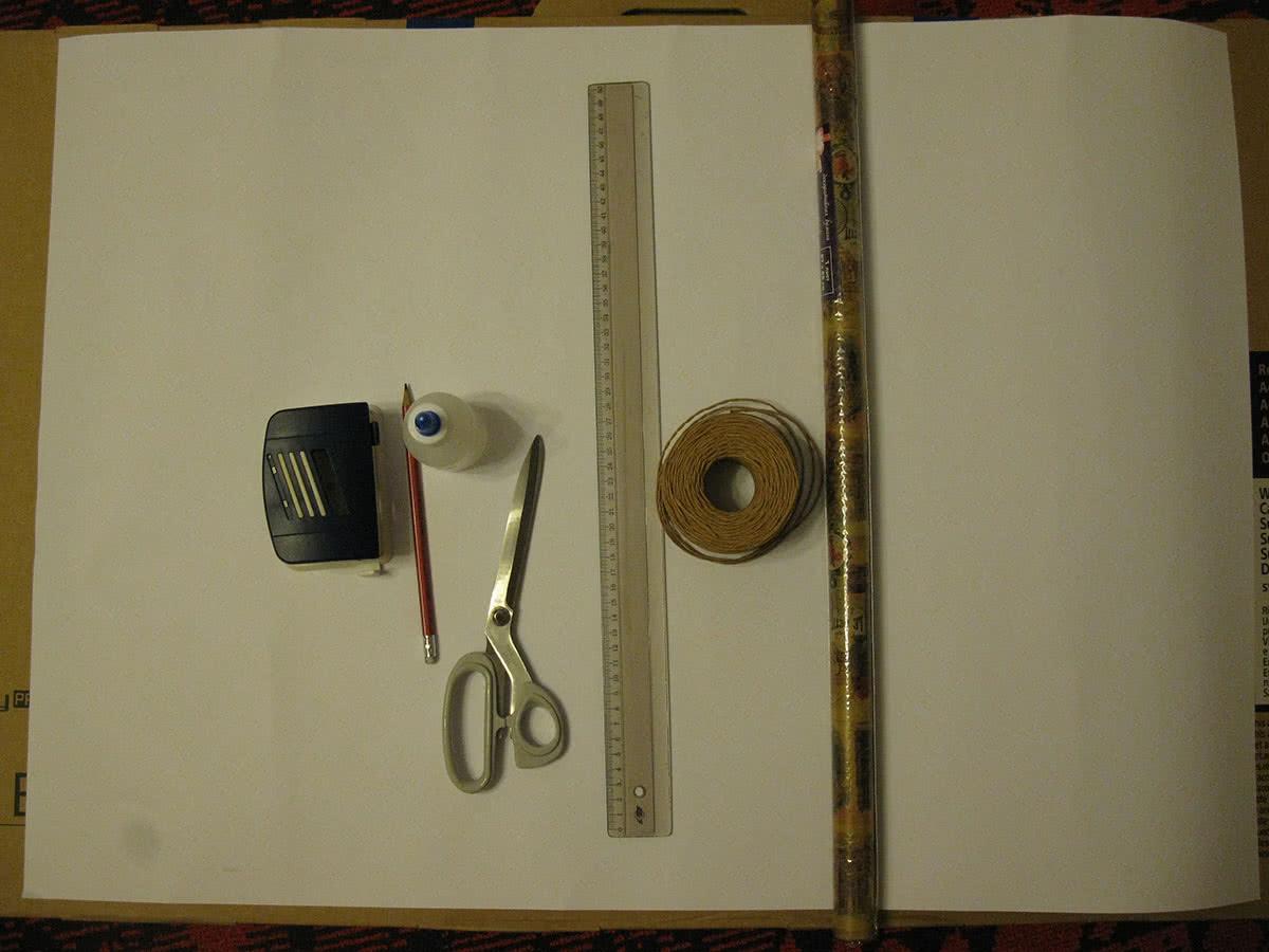 Материалы для изготовления подарочного пакета