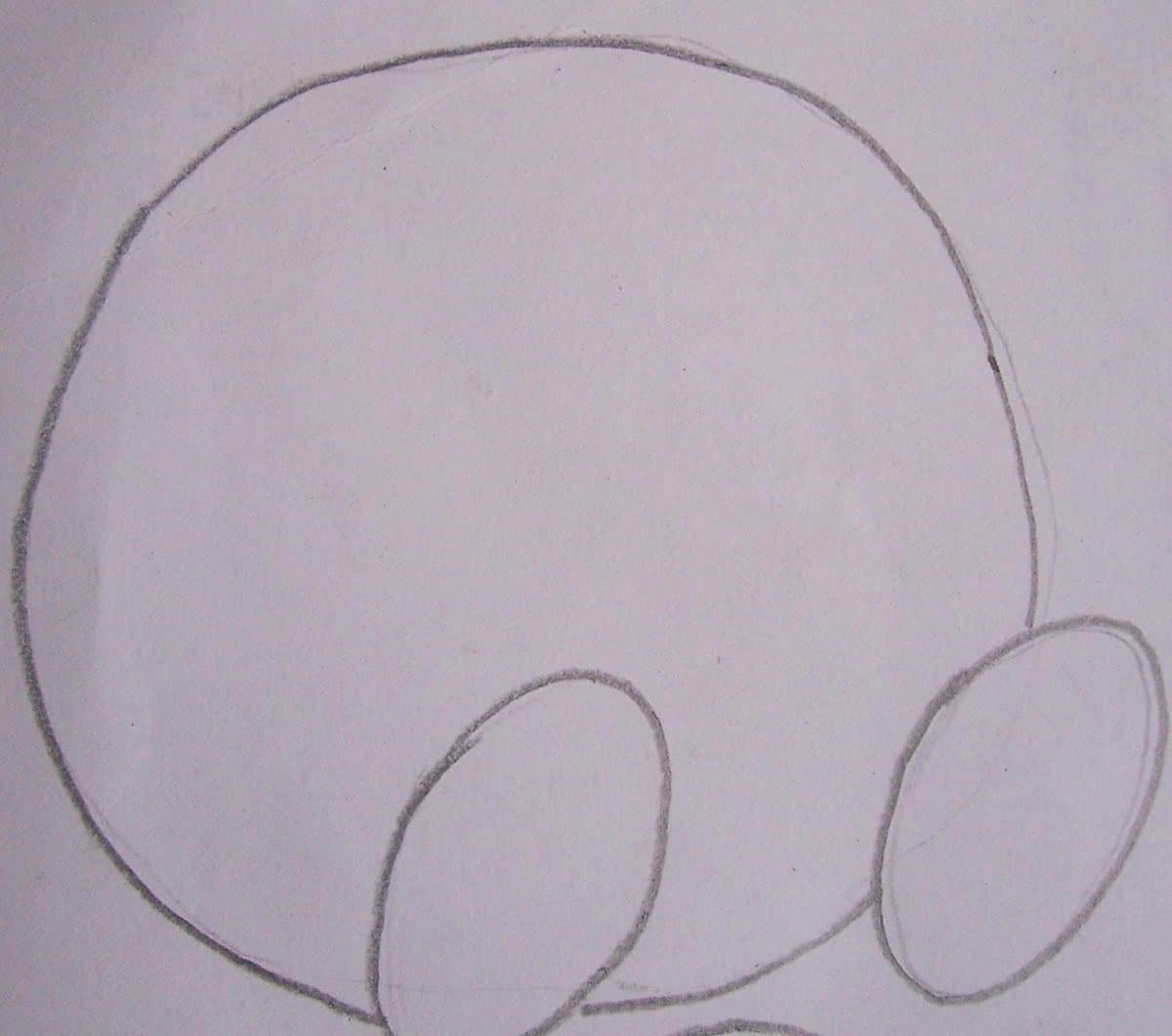 Пошаговый рисунок Кроша