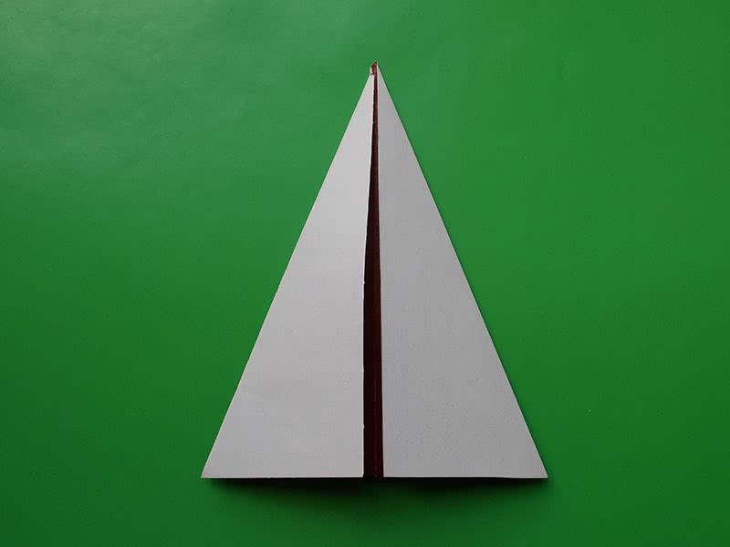 Оригами из бумаги гриб