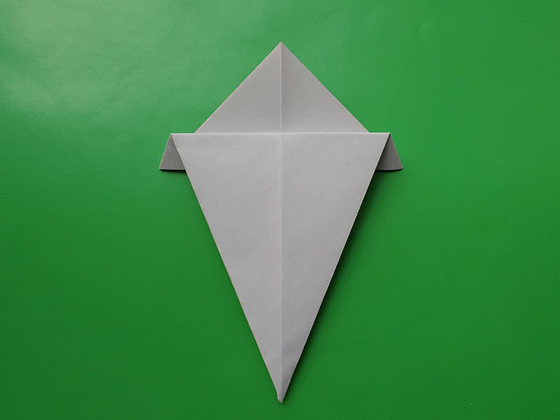 Оригами из бумаги шаг