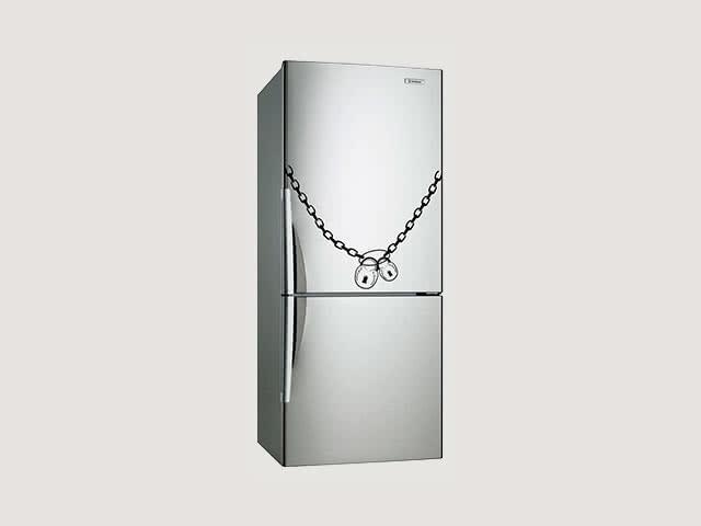 Холодильник под замком