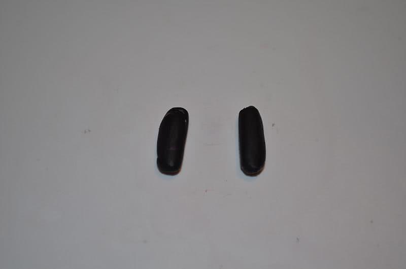 Ботинки Пеппы из пластилина
