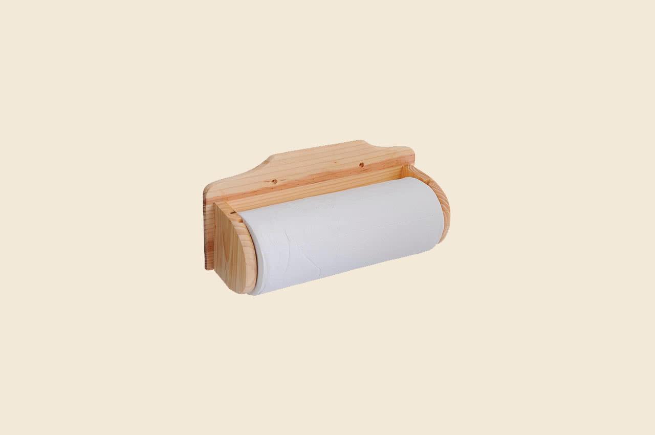 Держатель для бумажных полотенец из дерева своими руками