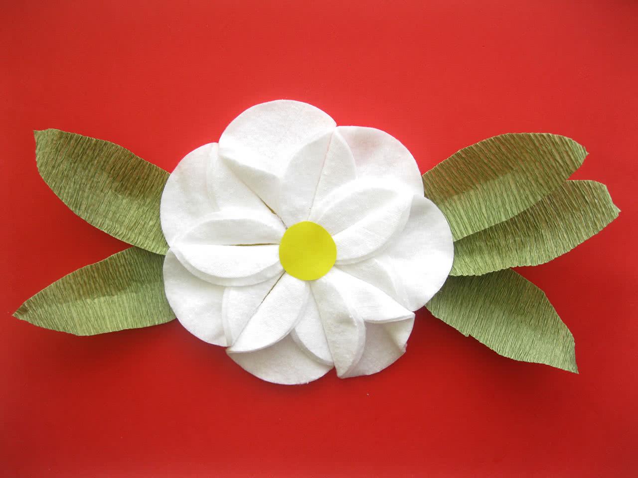 якорная цветы из ватных дисков своими руками картинки пряного острого