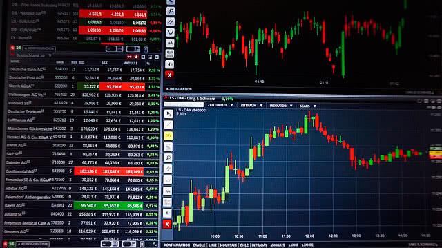 Акции Газпрома на бирже