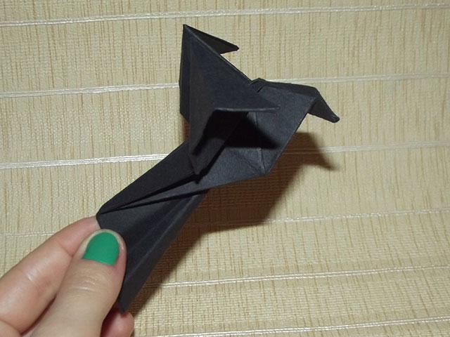 Голубь оригами фото