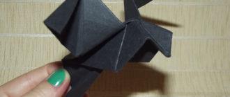 Оригами голубь фото