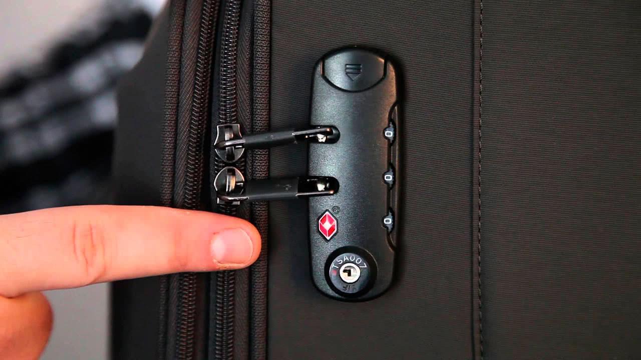 Как открыть кодовый замок на чемодане