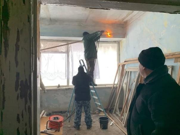 Сводка от УНМ ДНР 21.01.2021. Укрофашисты в день переговоров Контактной группы обстреляли Старомихайловку из минометов, повреждены два дома