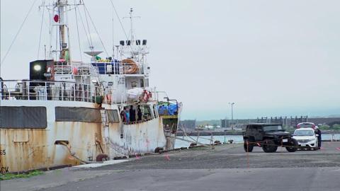 Российское судно «Амур» вышло из Японии в порт приписки