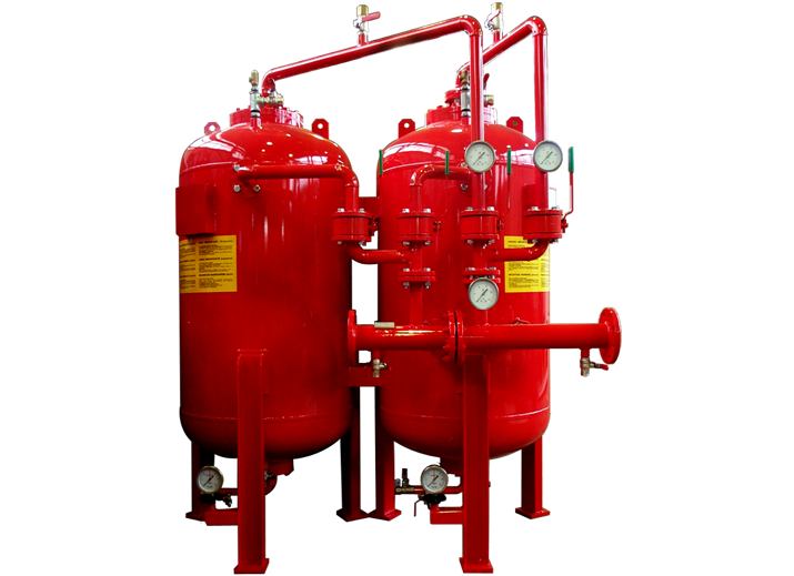Система подмеса огнетушащего состава: область применения