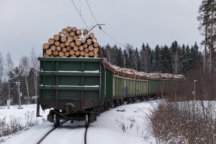 Перевозка лесо и пиломатериалов жд транспортом от компании Алферт